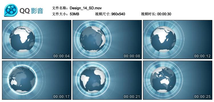 AE动态视频素材