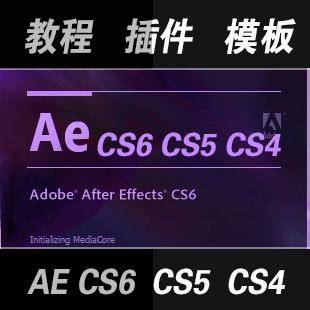 AE视频教程大全260GB/After Effects CS4/CS5教程/软件+素材+字体